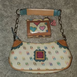 Dooney & Bourke Small Shoulder Bag & Coin Purse